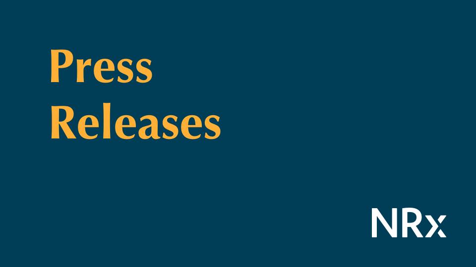 NRx Press Release